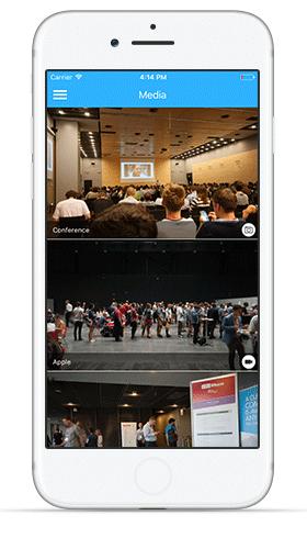 Meeting Application - media