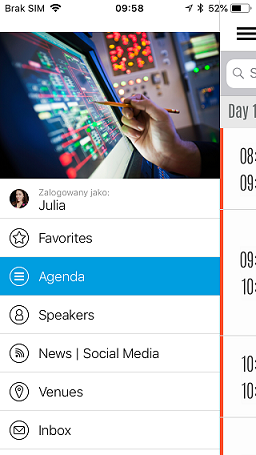 Bayer internal meeting app