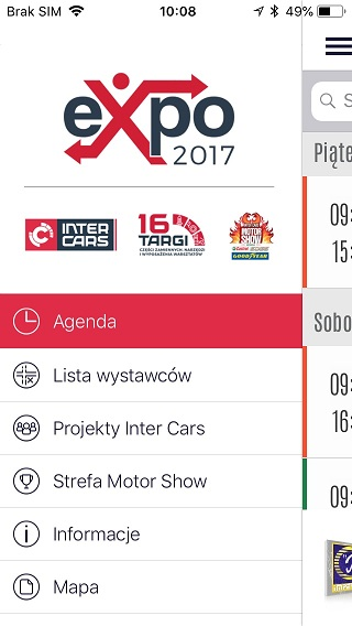 Intercars b2x expo app
