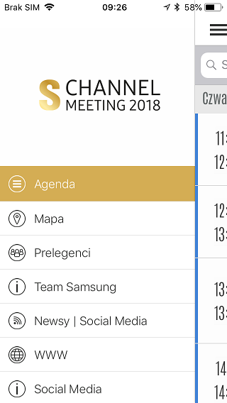 Samsung internal meeting app
